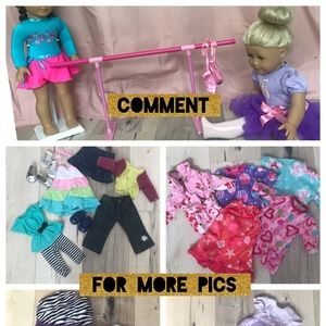 Other - ⭐️HUGE DOLL CLOTHES LOT⭐️